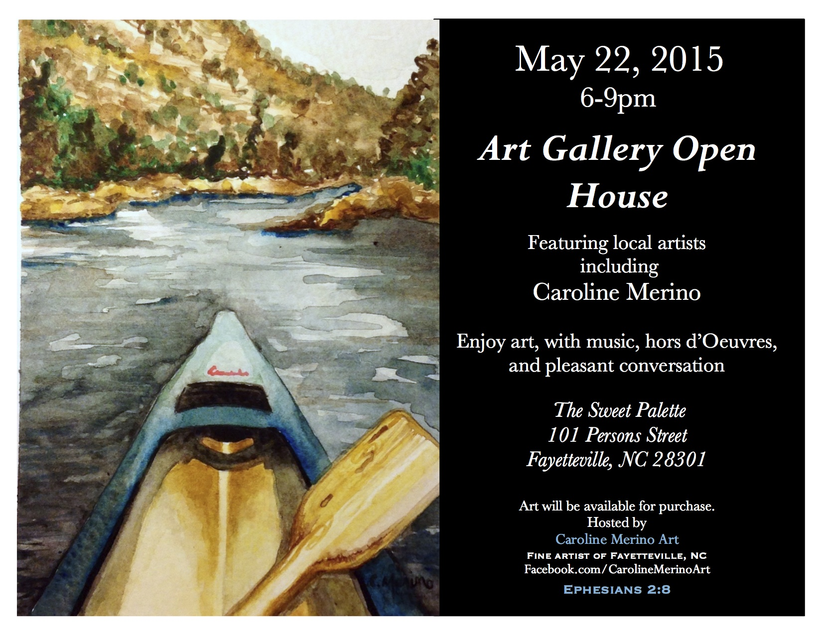 Sweet Palete Art Gallery Open House